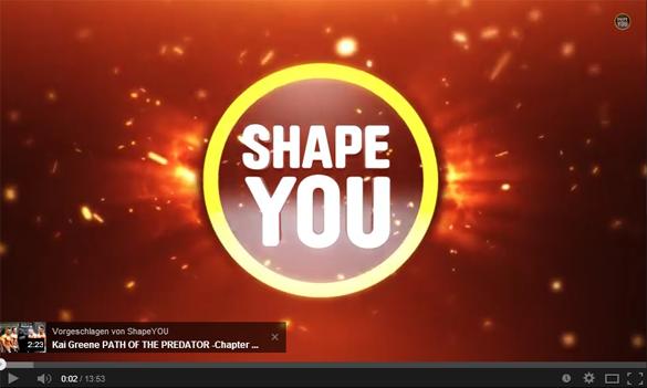 Logoeinblendung zu Beginn und Ende des Videos